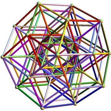 6Cube-QuasiCrystal