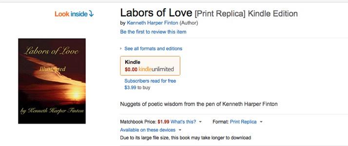 LABORS OF LOVE -AMAZON